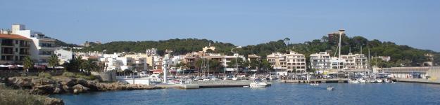 Panorama-Ansicht von Cala Ratjada